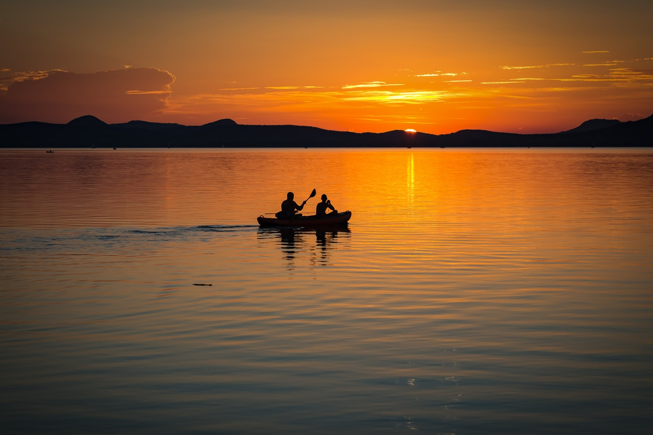 lake-balaton-sunset-lake-landscape-158045 2