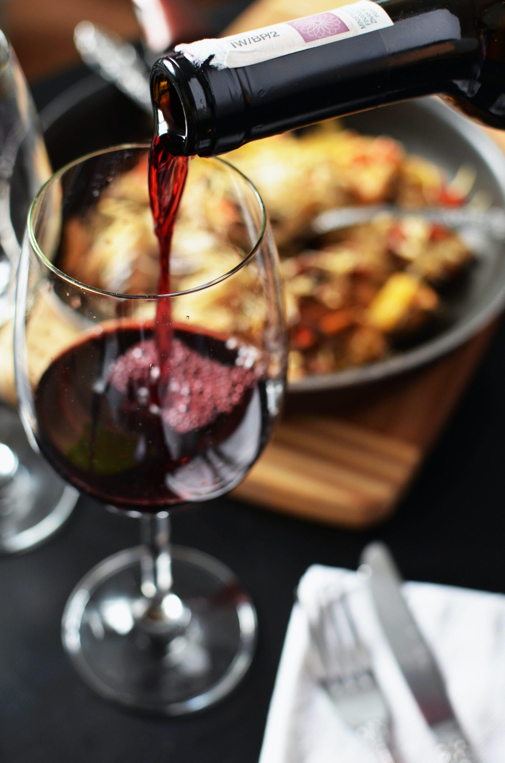 Kød og rødvin